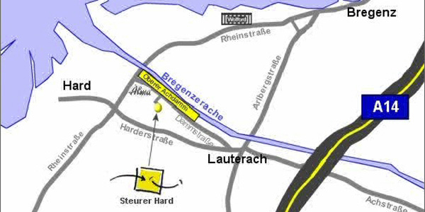 Steurer-U-Anfahrt